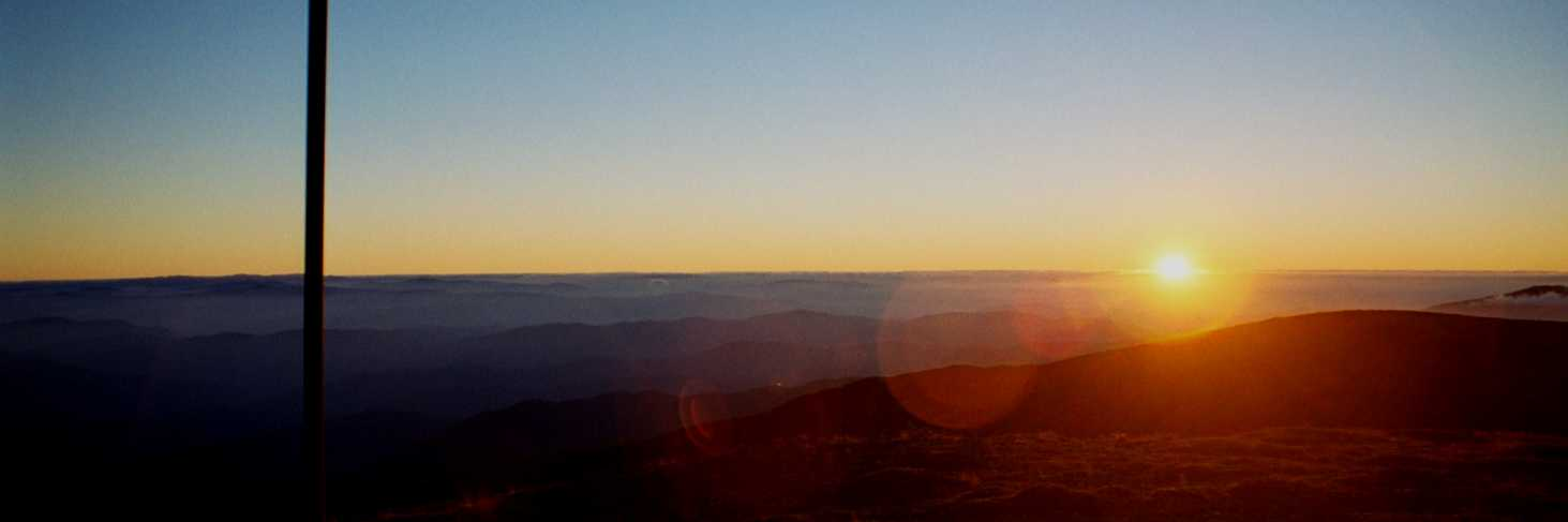 Morning views in the High Country, Mount Bogong.